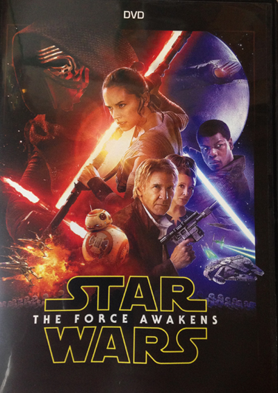 cover of the Star Wars: The Force Awakens DVD